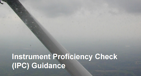 Read this comprehensive Instrument Proficieny Check Guidance documentation about Instrument Proficieny Check... ( Read Advisory Circular 61-98C )